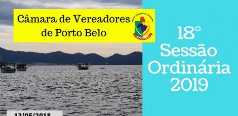 18° SESSÃO ORDINÁRIA 2019